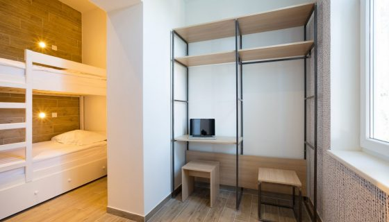 Hostel Link - Triple Room with Bunk Beds 16 m² Courtyard/Garden View