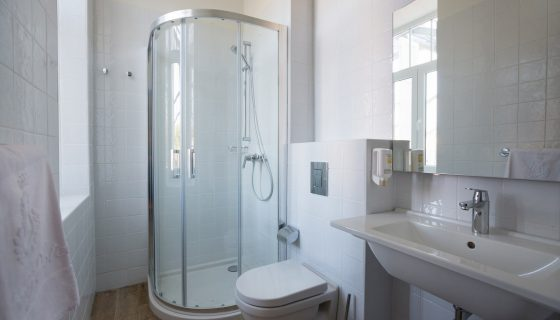 Triple Room with Bunk Beds 16 m² Courtyard/Garden View - Bathroom